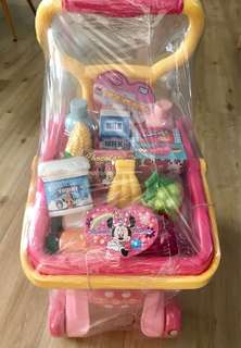 Mini Mouse Supermarket Trolley(BN)