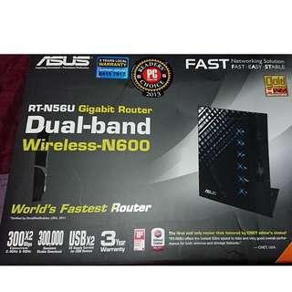 RT-N56U GIGABIT ROUTER DUAL-BAND Wireless N600