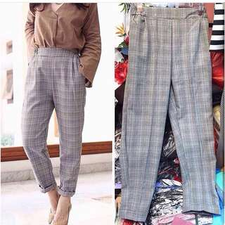 Out of stock (sementara) - Tartan pants