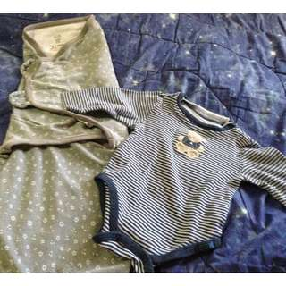 Authentic Swaddle Me with Onesie for Baby / New Born / Infant
