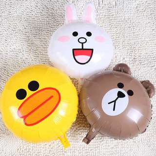 """🚚 18"""" Line Friends (Helium Balloon)"""