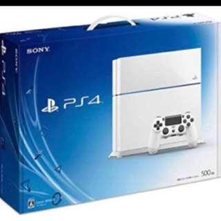 收購PS4預算6000左右