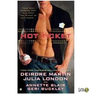DEIRDRE MARTIN BESTSELLER THRILLER : HOT TICKET