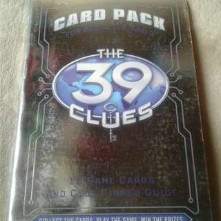 39 clues cards only