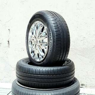 Used 195/65 R15(Sold) Hankook (2pcs) 🙋‍♂️