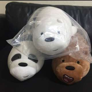 we bare bears soft toy