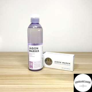 Jason Markk Shoe Cleaner And Premium Brush