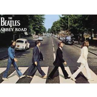 Abbey Road Beatles Poster