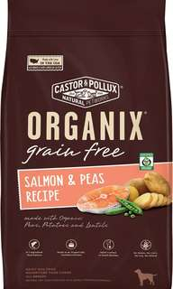 ORGANIX Grain-Free Salmon & Peas Recipe Dry Dog Food