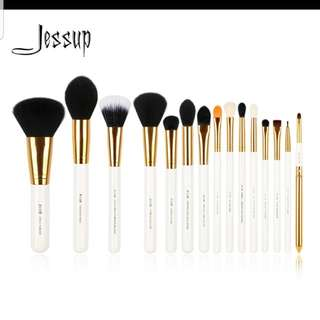 Jessup 15Pcs Brush Set