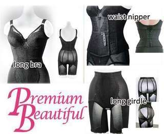 (Waist nipper) Premium Beautiful Korset