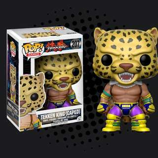 FUNKO POP - TEKKEN - KING ( CAPED )