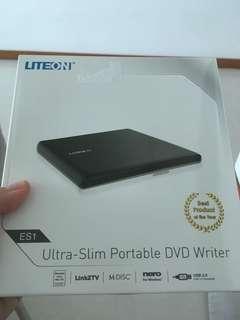 External portable DVD Writer