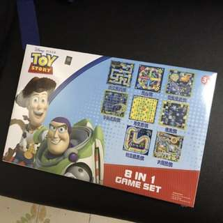 Toy Story 8 in 1 Game Set 遊戲棋