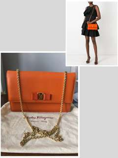 Ferragamo Orange Crossbody Bag