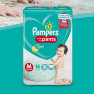 Pampers Pants Diaper - Medium