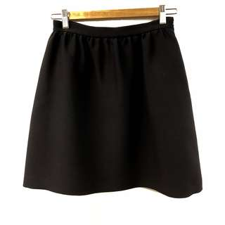 黑色半截裙 Christian Dior black skirt size F36