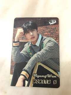 Monsta X yescard