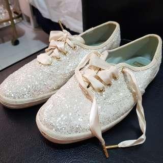 Keds x Kate Spade Glittered Shoes