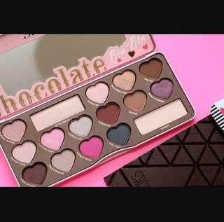 💄❤️ Too Faced Chocolate Bon Bons Eyeshadow Palette