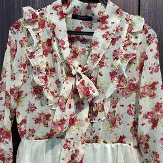 RJ Story Floral Dress 🌺