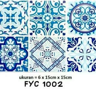 Sticker Keramik / Ubin / Lantai Uk. 15x15cm