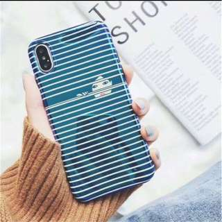 Blue ray soft case iphone 7 8