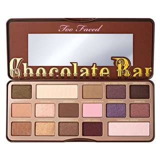 💄❤️ Too Faced Chocolate Bar Shimmer & Matte Eyeshadow Palette