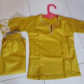 Baju Kurung Baby 1yr