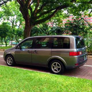 MPV - P-plate welcome. Nissan Lafesta 2.0 (a) for rent