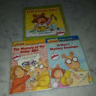 Marc Brown Arthur chapter books