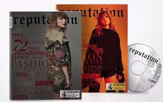 Taylor Swift Reputation magazine (US target version)