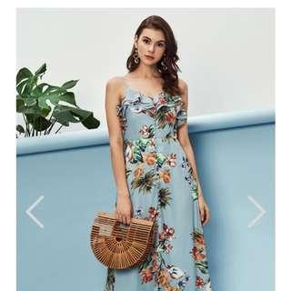 TCL Valentine Floral Maxi Dress