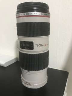 Canon EF 70-200 F4 L IS lens