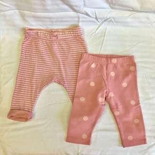 H&M Baby Pants, set of 2
