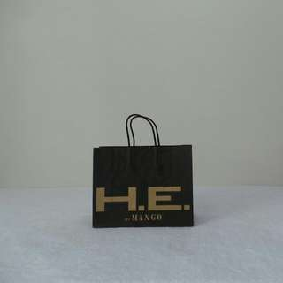 HE by Mango Paper Bag