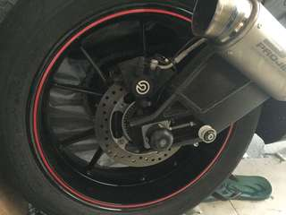 Brembo Brake Kit (Rear)