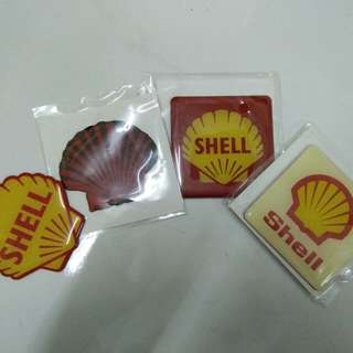 SHELL Fridge Magnet