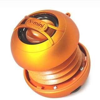 X mini capsule speaker