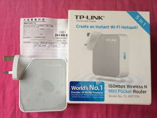 TP-LINK 迷你 Router
