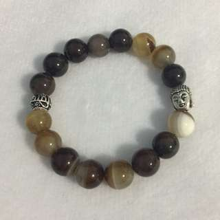 Zen Botswana Agate Bracelet