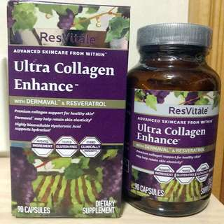 💥(加強版) ResVitále™ 膠原蛋白(90粒) ResVitále™ Ultra Collagen Enhance™ (90 Capsules)