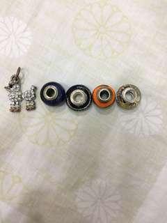 REPRICED murano charms for pandora