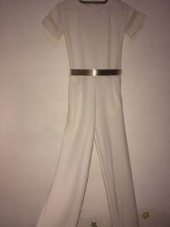 White Jumpsuits (very good condition like new)