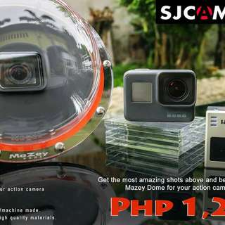 Dome for SJCAM and GoPro Hero