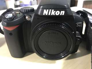 Nikon D40 DSLR body (lens not included)