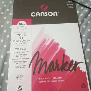 Canson marker paper