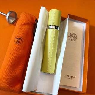 Hermes perfume atomizer bottle