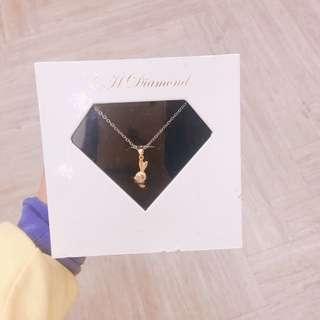 💎鑽石項鍊💎 💮真的鑽石💮