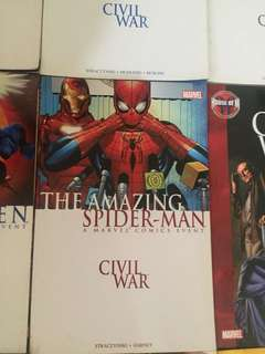 Civil War Amazing Spiderman